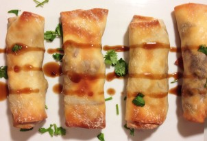 How d'ya like them eggrolls? Don't these look beautiful?